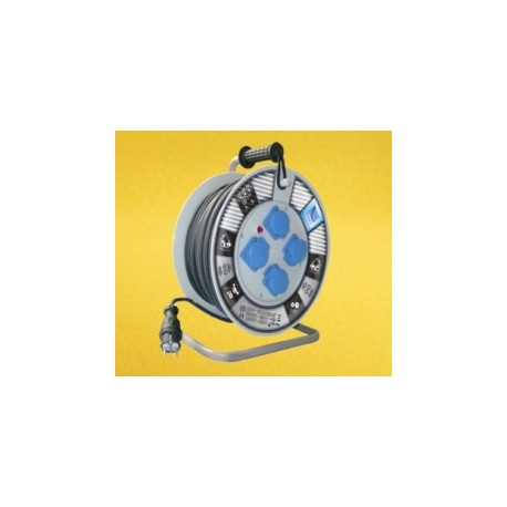 Przedłużacz bębnowy H05RR-3x1,5x 50m 1-fazowy