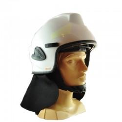 Hełm strażacki BHS wizjer bezbarwny, osłona karku