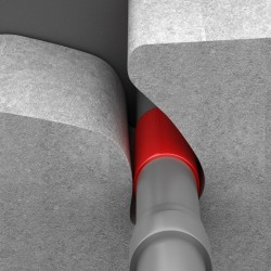 Opaska ogniochronna ALFA UNIWRAP S EI120 125mm