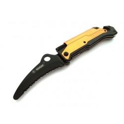 Nóż Ratowniczy Kandar 3w1 N-061J Latarka Krzesiwo