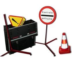 Zestaw do oznakowania miejsc wypadków - L. diody
