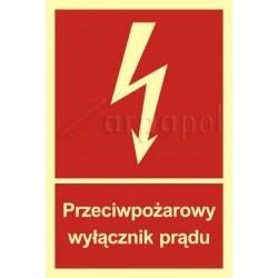 Z.BB Przeciwpożarowy wyłącznik prądu 012 BB PN