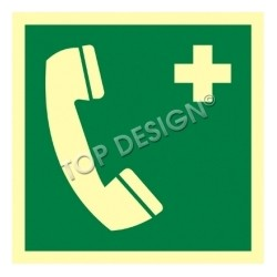 Z.AE Telefon alarmowy 15x15 004C1PS