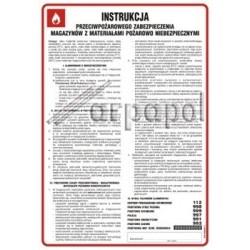 Z.DB 010 zabezpieczenia magazynów z materiałami po