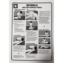 Z.DD006 Instrukcja BHP udzielania pierwszej pomocy