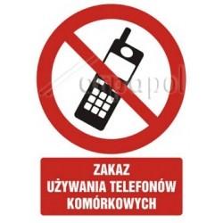 Z.GC Zakaz używania telefonów komórkowych 030 DJPN