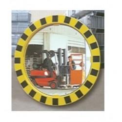 Lustro przemysłowe 2 kierunkowe żółto-czarne 60