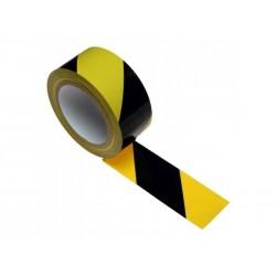 Taśma PCV 50/33 Żółto-Czarna do ciągów kom.
