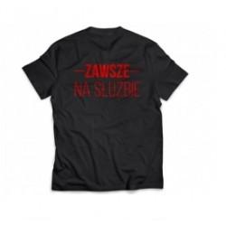 Koszulka strażacka - Zawsze na służbie
