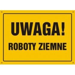 Z.OA Uwaga Roboty ziemne 008 EHBN