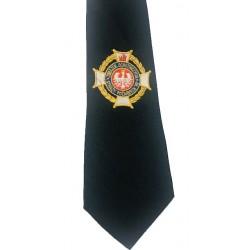Krawat z haftem OSP