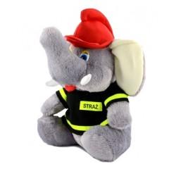 Maskotka strażak Słoń - mały