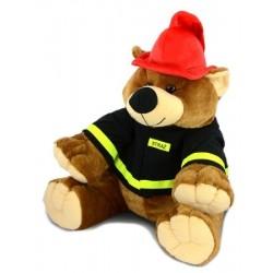 Maskotka strażak Miś - duży