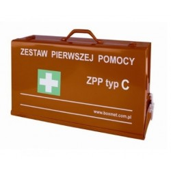 Zestaw pierwszej pomocy ZPP typ C w walizce
