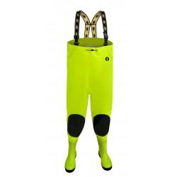 Spodniobuty strażackie MAX S5 Fluorescencyjne
