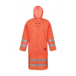 Płaszcz wodoochronny ostrzegawczy