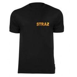 Koszulka T-shirt z flock STRAŻ