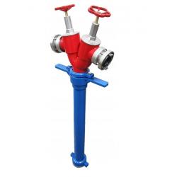 Stojak hydrantowy DN80 2x75 (B/BB)