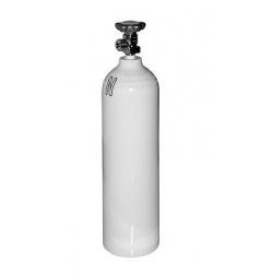 Butla aluminiowa tlenowa 2,7 l z zaworem