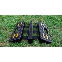 Mostek przejazdowy gumowy 2x75 składany