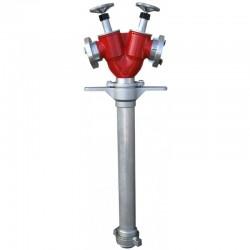 Stojak hydrantowy DN80 2x52 (B/CC)