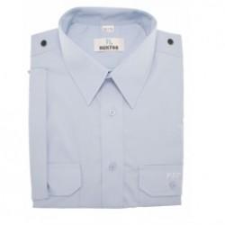 Koszula PSP służbowa krótki rękaw - niebieska