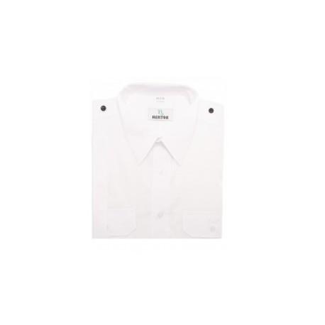 Koszula PSP wyjściowa krótki rękaw - biała